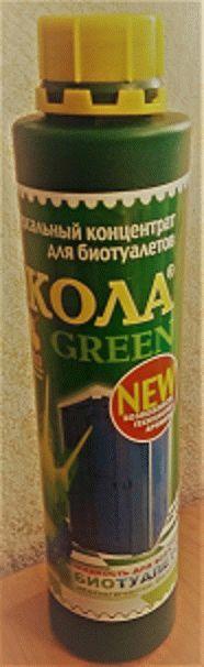 Жидкость «ЭКОЛА грин» 0,75 л